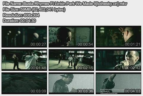 Busta Rhymes Ft Linkin Park-We Made It
